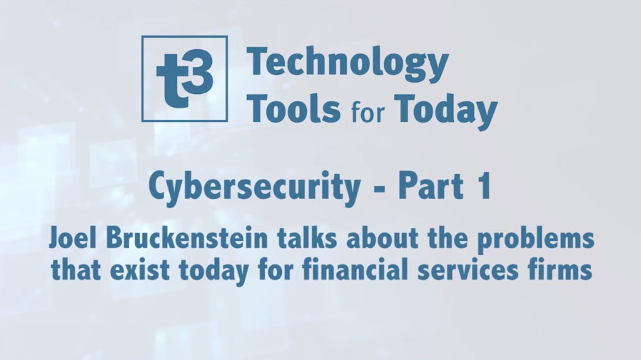 Cybersecurity  U2013 Part 1  Problems Firms Face Today